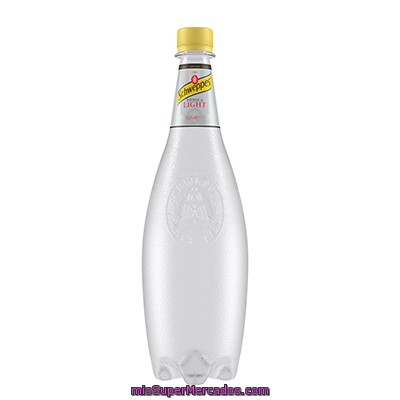 Tónica Light Schweppes, Botella 1 Litro