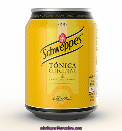 Tonica             Schweppes Lata 25 Cl