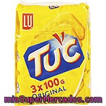 Tuc Break Crackers Pack Ahorro 3 Paquete 100 G
