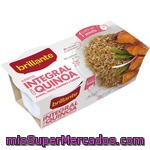 Vasitos De Arroz Integral Con Quinoa Brillante, Pack 2x125 G