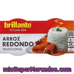 Vasitos De Arroz Redondo Brillante, Pack 2x125 G