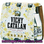 Vichy Catalan Agua Mineral Natural Con Gas Pack 6 Botellas 25 Cl