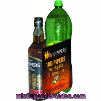Whisky 100 Pipers 1 L.